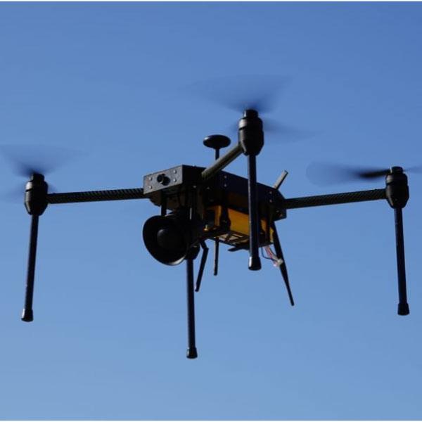 dron ahuyentador de pajaros